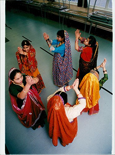 Vintage photo of Indian folk dancing just one of the displays to be seen at ()