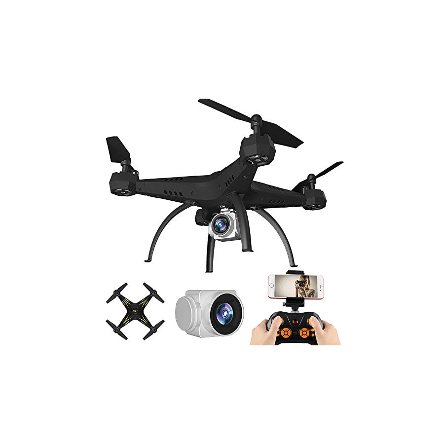 Littleice 2.4G HD Camera FPV WiFi Drone Quadcopter UAV Remote Control Helicopter Real-time 2