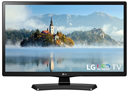 "New LG 24"" HD Black TV 24 inch 1366x768 Tiple XD Engine HDMI"