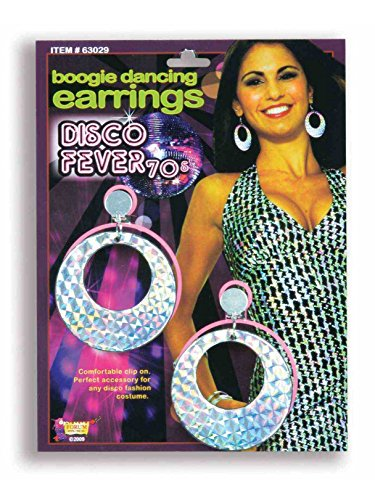Forum Novelties Disco Boogie Dancing Earrings