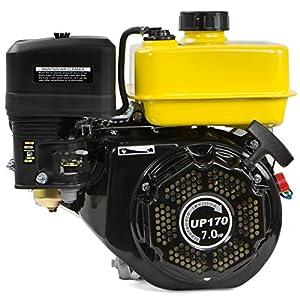 7 HP Gas Engine Go Kart Log Splitter Mini Bike Steam Easy Start Motor