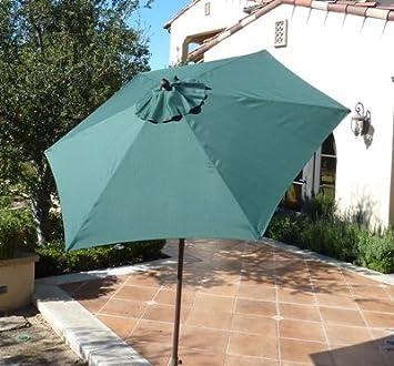 Amazon.com : Formosa Covers 7.5 Foot Aluminum Market Umbrella, Crank U0026  Tilt, Strong Fiberglass Ribs, UV Treated, Perfect For Patio, Small Bistro,  ...