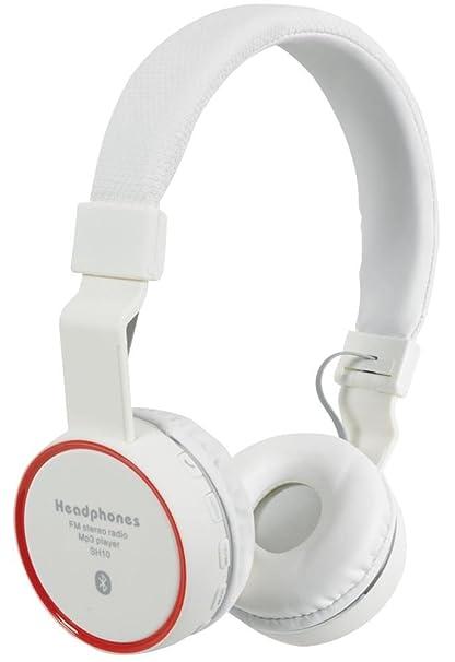 AV: link – Bluetooth auriculares inalámbricos, color blanco nuevo