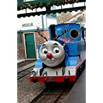 Home Comforts Blue Cute Engine Tank Funnel Thomas Chimney Poster