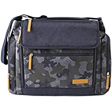 J Is For Jeep Large Diaper Duffel/Messenger Bag Combo - Roomy Design - Camouflage