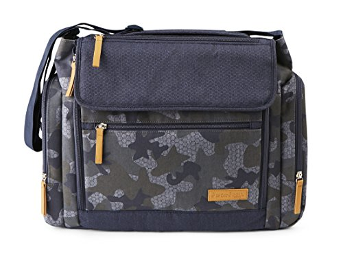 Jeep Diaper Bag (J Is For Jeep Large Diaper Duffel/Messenger Bag Combo - Roomy Design - Camouflage)