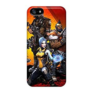 Bumper Cell-phone Hard Covers For Iphone 5/5s With Unique Design Lifelike Borderlands Image KennethKaczmarek