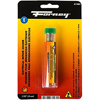 Forney 61480 Lead Free Rosin Solder, 1/32