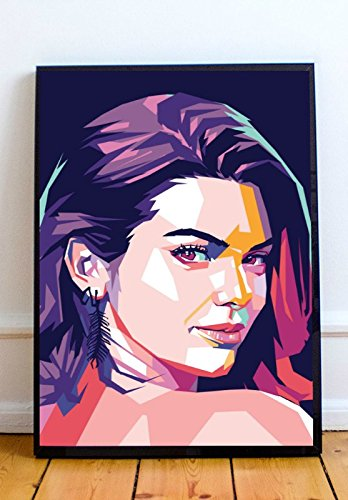 Kendall Jenner Limited Poster Artwork - Professional Wall Art Merchandise (More Sizes Available) (11x14)