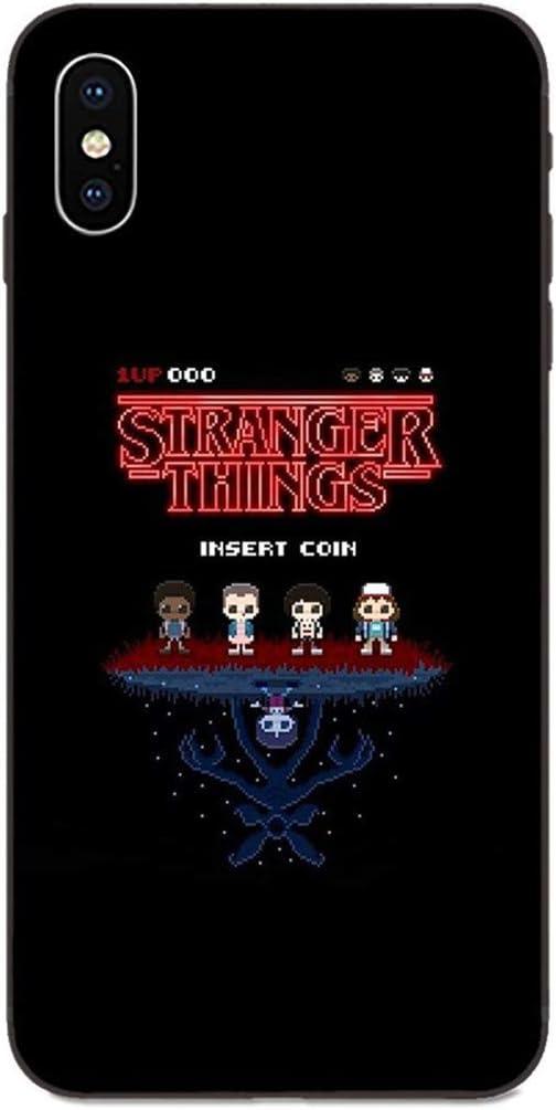 LvShui Stranger Things Xiaomi Mi A2 Funda Carcasa Case Cover TV Stranger Things Finn Wolfhard para Xiaomi Mi A2
