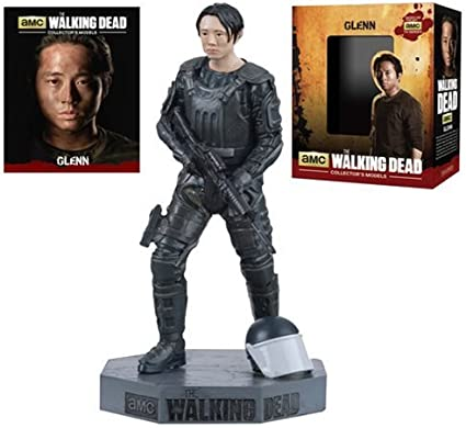 "#7 AMC SOLD OUT Eaglemoss The Walking Dead Collector/'s Models 3/"" Figure Glenn"