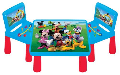 Amazon Com Kids Only Mickey Mouse Clubhouse Funtime Table