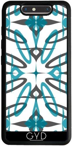 Funda Silicona para ZTE Blade V8 - Formas Bastante Azules by Yasmina Baggili