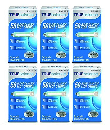 Home Diagnostics 300 Piece Truebalance Glucose Test Strips,