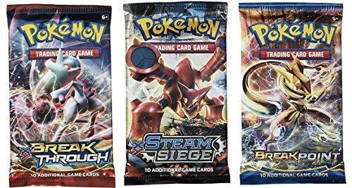 (Pokemon Cards - 3 Booster Packs (Random Packs))