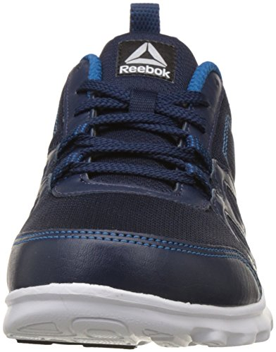 93b8ab870807e Reebok Men s Run Fusion Lp Coll Navy Cycle Blue Mets Running Shoes-11  UK India (45.5 EU) (12 US) (BS9183)  Buy Online at Low Prices in India -  Amazon.in