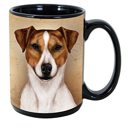 (Imprints Plus Dog Breeds (R-Z) Rat Terrier 15-oz Coffee Mug Bundle with Non-Negotiable K-Nine Cash (rat terrier 141) )