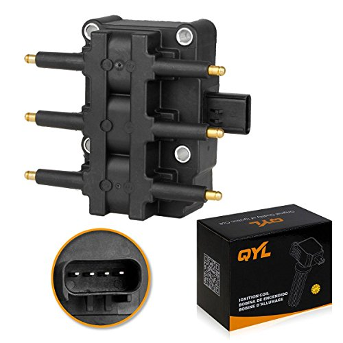 Ignition Coil Pack for Chrysler Pacifica Town Country Voyager Dodge Grand Caravan Jeep Wrangler 3.3L 3.8L V6 fit C1442 UF-305