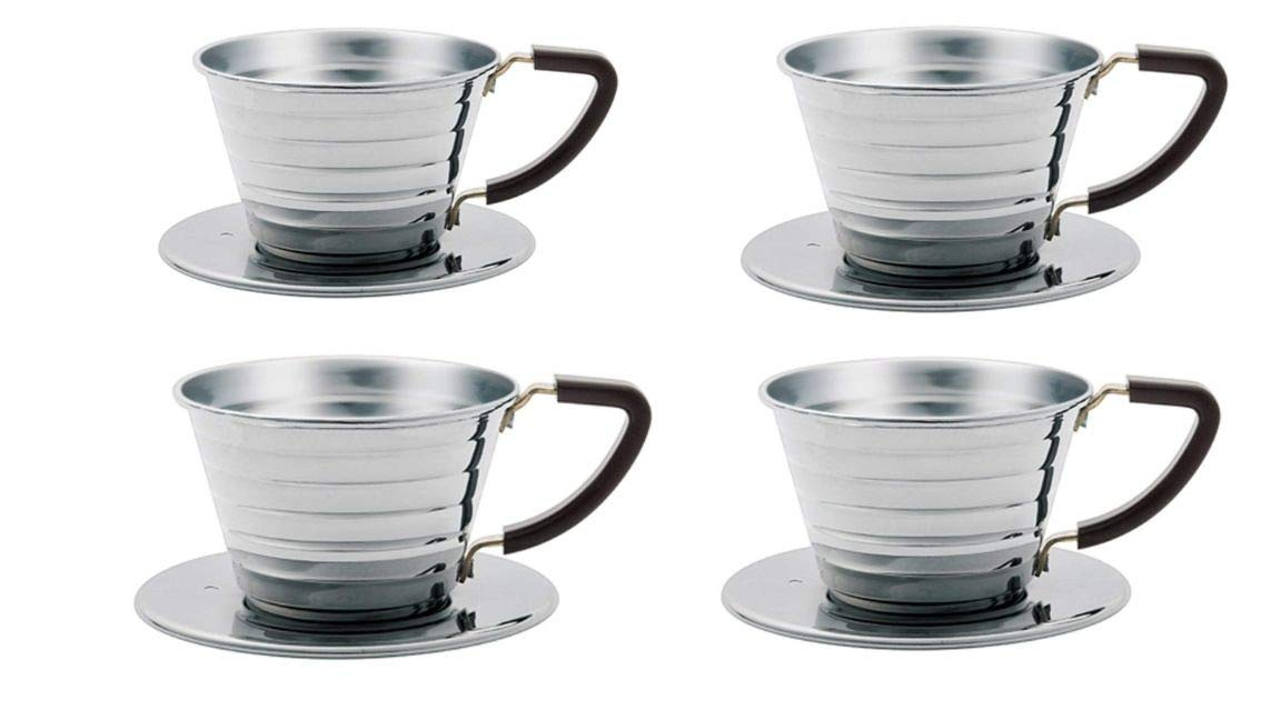Kalita Stainless Steel Wave SIZE 155 pack of 4