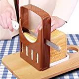 Best Bread Slicers - Adjustable Foldable Bread Slicer Guide Cutting Board For Review