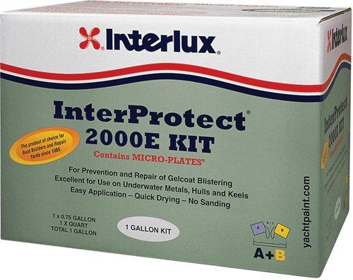 Interlux Y2000EKIT/QT InterProtect 2000E Epoxy Primer Kit (Gray), 32. Fluid_Ounces ()