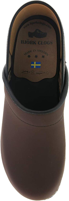 Bjork Karin Swedish Womens Pro Oiled Leather Clogs