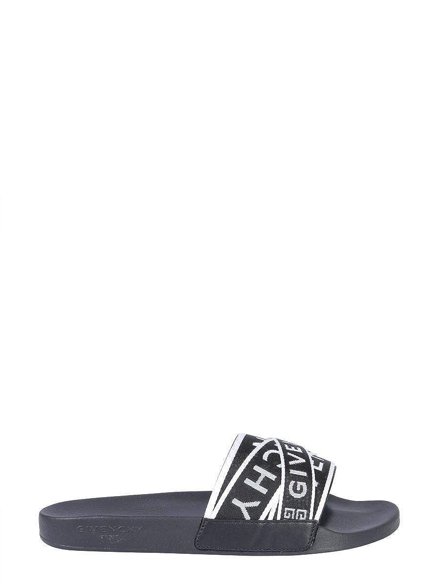 - Givenchy BH300DH0A5004 - Sandalias de Nailon para Hombre, Color negro
