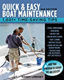 Quick and Easy Boat Maintenance, Sandy Lindsey, 0071789979