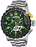 Stuhrling Prestige Men's 329.33115 Prestige Swiss Made Limited Edition  Pro Quartz Chronograph Green Watch