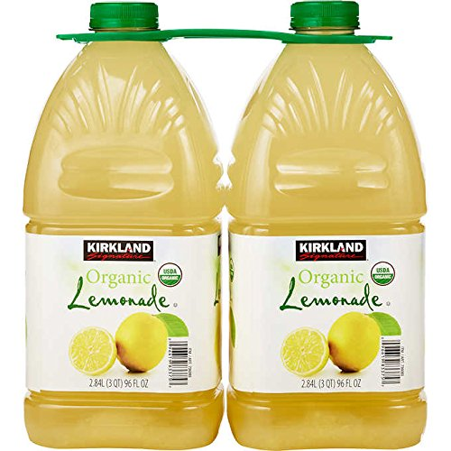 Kirkland Signature Organic Lemonade - 2 Count (192 fl oz.)