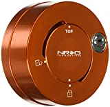 NRG Innovations SRK-101OR Orange Quick Lock