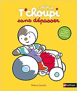 T Choupi Mes Coloriages Sans Depasser Le Tracteur Des 2 Ans