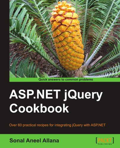 ASP.NET jQuery Cookbook by Sonal Aneel Allana, Publisher : Packt Publishing