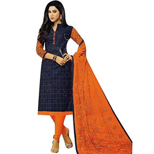 Indian Cotton Salwar Kameez - 2