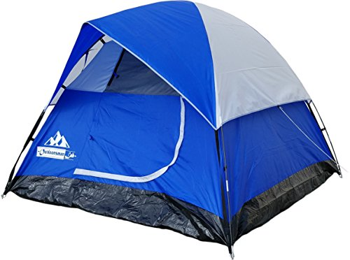 OutdoorsmanLab-3-Person-Tent-For-Camping-Backpacking-Mountaineering-lightweight-Easy-Setup-Water-resistant-Dome-Family-Camping-Tent-w-Great-Storage-Space