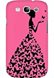 AMEZ designer printed 3d premium high quality back case cover for Samsung Galaxy S3 Neo (cute pink girl princess)