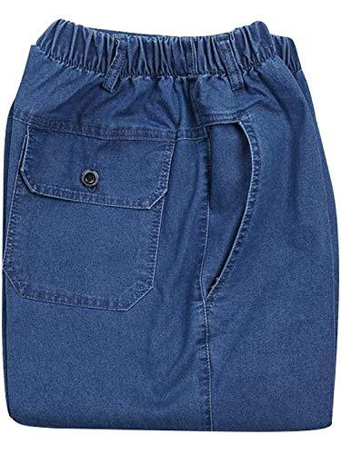 Hombres Los Ocasionales De Skinny De Pantalones Pierna Jeans Mezclilla Hellblau Fashion De De Vintage Elástica Recta Summer Mezclilla Cintura Pantalones Pantalones Lannister Sueltos Pantalones De AvYqH4xw
