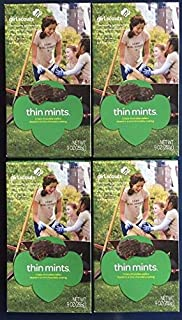 product image for Girl Scout Thin Mints Cookies, 9 Oz(4 Boxes)