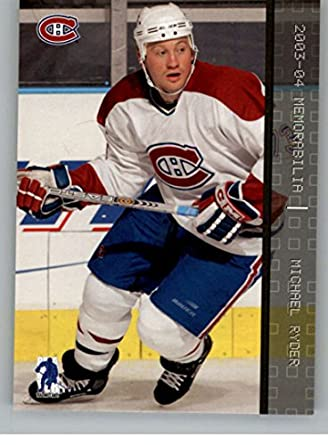 101ae3a43 2003-04 Be A Player Memorabilia  242 Michael Ryder Montreal Canadiens