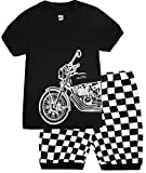 Boys Pajamas Motorcycle Kids Clothes Short Sets Size 2T-7