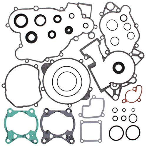 Complete Gasket Set with Oil Seals For 2005 KTM 85 SX (19/16) Offroad Motorcycle