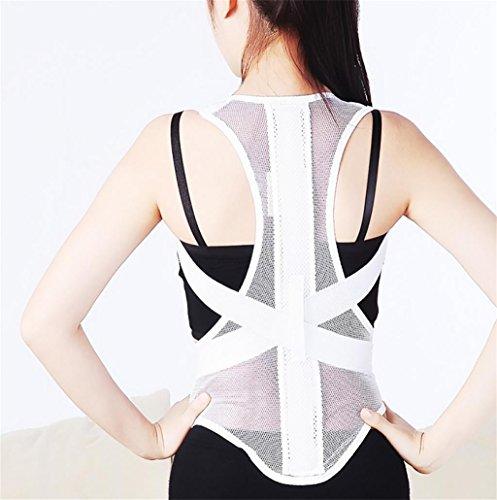 G&M Körperhaltung Korrekturband Band Korrektur an den zurück zurück zurück gutes Kind Erwachsenen Trägern zu verhindern, dass Glöckner Haltung Korrektur Riemen , white , l
