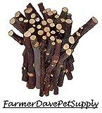 FarmerDavePetSupply 45 Apple Chew Stick Bonus Pack for Small Animals