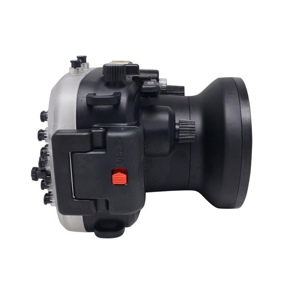 EACHSHOT 40m/130ft Underwater Camera Housing for Canon PowerShot G1X II