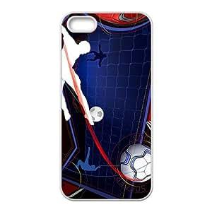 Cool Man Football Pattern Custom Protective Hard Phone Cae For Iphone 5s