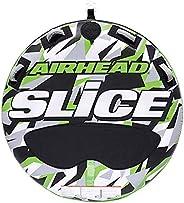 Kwik Tec Airhead Slice Towable Tube - 58 inch Diameter, Green Camo (AHSSL-22)
