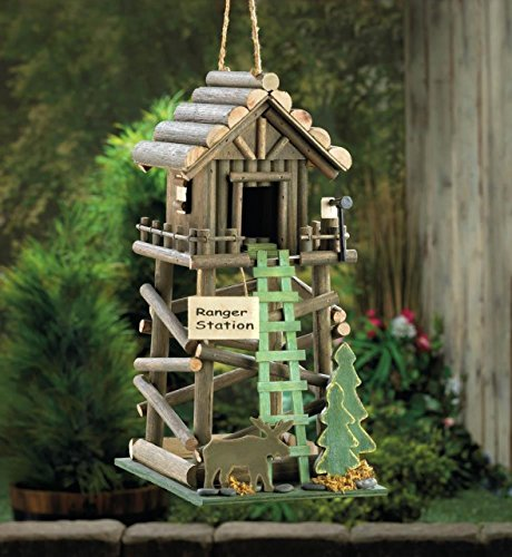 Birdhouses Chickadee Hummingbird Birdhouse Patterns Outside Ornament Plans For Kids Decorative Thatch Roof (Hummingbird Bird House compare prices)