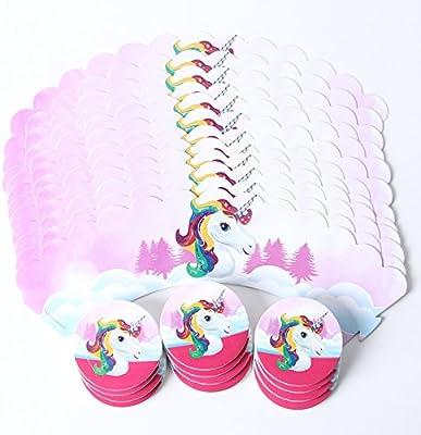 OPEN BUY unicornios para decoracion de 24 cupcakes ...