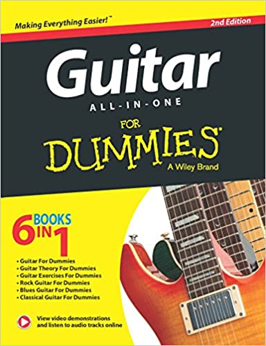 Guitar All-In-One For Dummies Paperback Jun 09, 2015 Jon Chappell ...