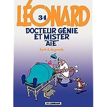 Léonard - tome 34 - Docteur Génie et Mister Aïe (French Edition)